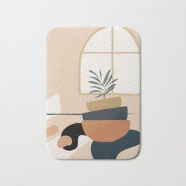 Plant in a Pot Bath Mat