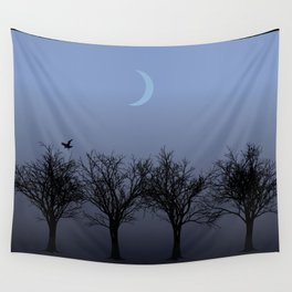 4 Trees Wall Tapestry