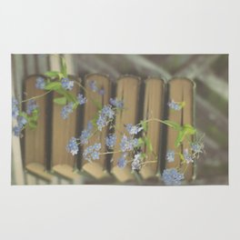 Forget Me Not Bookmark Rug