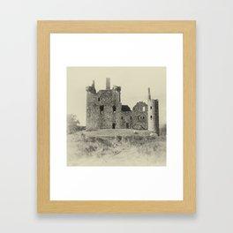 Kilchurn Castle 3 Framed Art Print