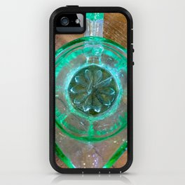 Domestic detail series - GREEN JUG OF JOY iPhone Case