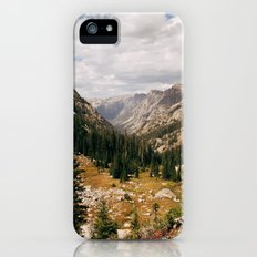 The View from Above 10,000 ft - Wyoming Wilderness Slim Case iPhone (5, 5s)