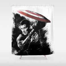 Steve Rogers: Shadow Edition Shower Curtain