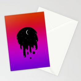 Bleed Through Stationery Cards