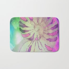NAUTILUS SEA SHELL IMPRESSION Bath Mat