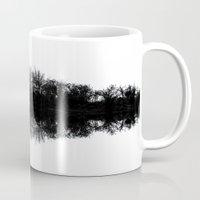 mirror Mugs featuring Mirror by Mark Alder