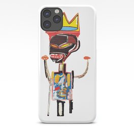 Homage to Basquiat Untitled iPhone Case