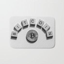 Bitcoin Cryptocurrency Bath Mat