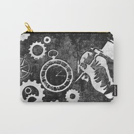 Tattoo-Inspired Background Carry-All Pouch
