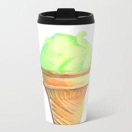 lemon icecream Metal Travel Mug