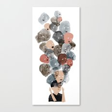 Violence In Our Heads Canvas Print
