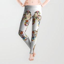 Flower Girl Two Leggings