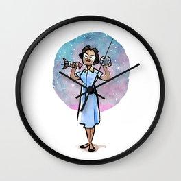 Katherine Johnson Wall Clock