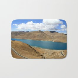 Namtso Lake - Tibet Bath Mat