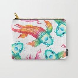 Rainbow Koi Fish Carry-All Pouch