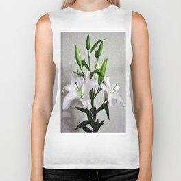 Bouquet of lilies Biker Tank