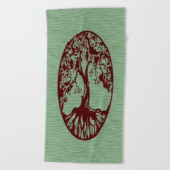 Tree of Life 3 Beach Towel