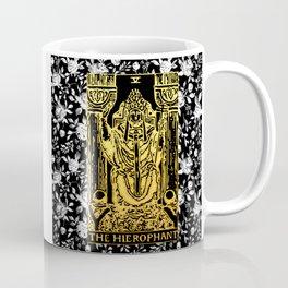 The Hierophant - A Floral Tarot Print Coffee Mug