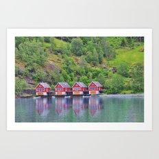 Flam - Norway Art Print