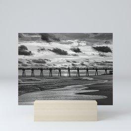 The sunset seeker Mini Art Print