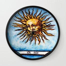 El Sol, The Sun Wall Clock