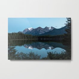 Vermillion Lakes, Banff National Park, Alberta Canada Metal Print