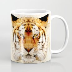 abstract tiger Mug