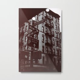 NYC - Lower East Side Metal Print