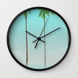Islamorada Florida vacation print Wall Clock