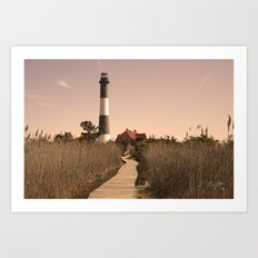 Fire Island Lighthouse Art Print