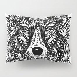 Wolf Head Pillow Sham