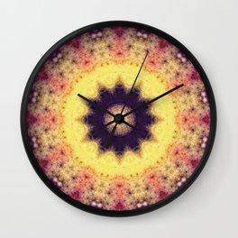 Flower Energy Wall Clock