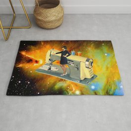 Barbara's Spaceship Rug