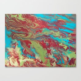 Psychedelic Collection Canvas Print
