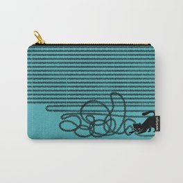 Unravel (in Blue) Carry-All Pouch