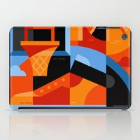 basketball iPad Cases featuring Basketball by koivo