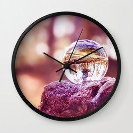 GLASSBALL Wall Clock