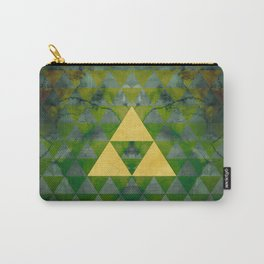 Link Geometry Carry-All Pouch
