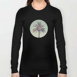 Retro palm tree Long Sleeve T-shirt