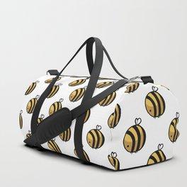 Bee Polka Dot Duffle Bag