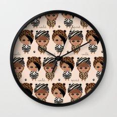 Wild spirit Wall Clock