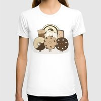 cookies T-shirts featuring I ❤️ cookies by maRiLisa