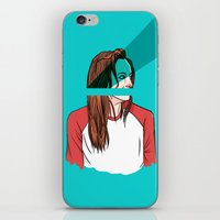 danny haas iPhone & iPod Skins featuring danny lawrence by Ana Rocha