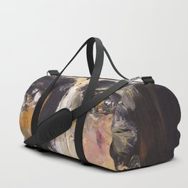 Christ with yellow eyes Duffle Bag