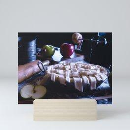 Apple Pie in the Making Mini Art Print
