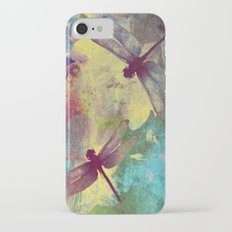 Painting Orchids and Dragonflies Slim Case iPhone 7