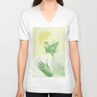dragon age V-neck T-shirts featuring Dragon Age: Solas by Couple Of Kooks