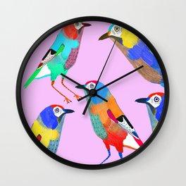 Birds of Paradise. Wall Clock