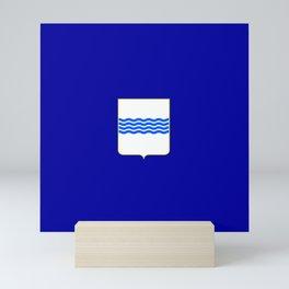 flag of basilicata Mini Art Print