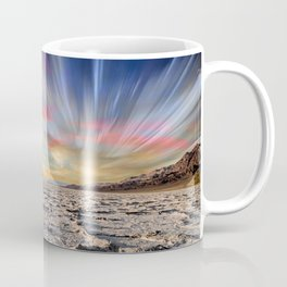 Stopping Time : Colorful Sky Landscape Coffee Mug